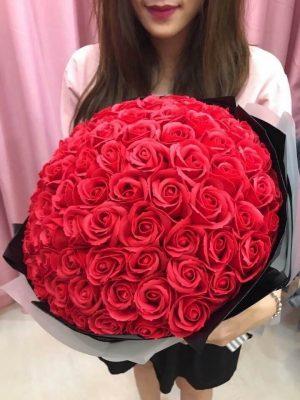 hoa hồng vĩnh cửu tặng bạn gái ngày lễ